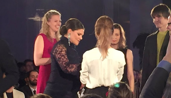 "Crown Princess Victoria of Sweden attended the presentation ceremony of ""Global Change Award"" at the Stockholm City Hall, Sweden."