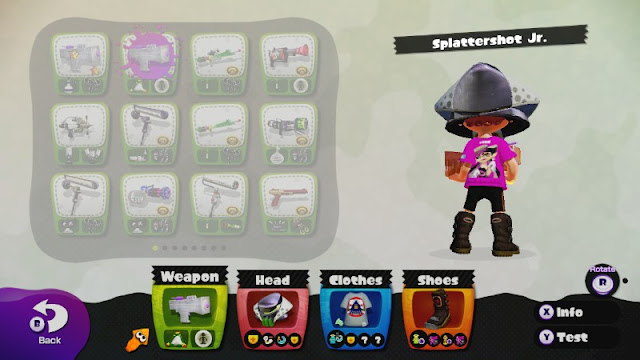 Team Callie Inkling Splatoon Splatfest Power Helmet Tee Moto Boots Splattershot Jr.