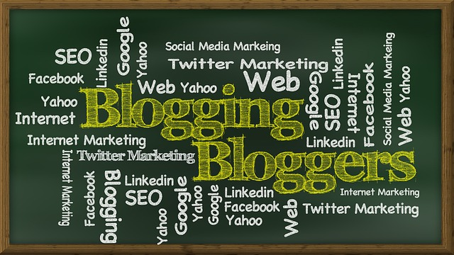 do blogging