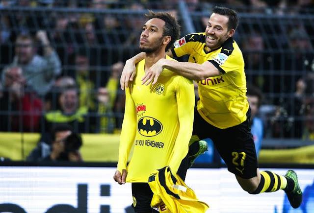 Aubameyang Borussia Dortmund Bundesliga