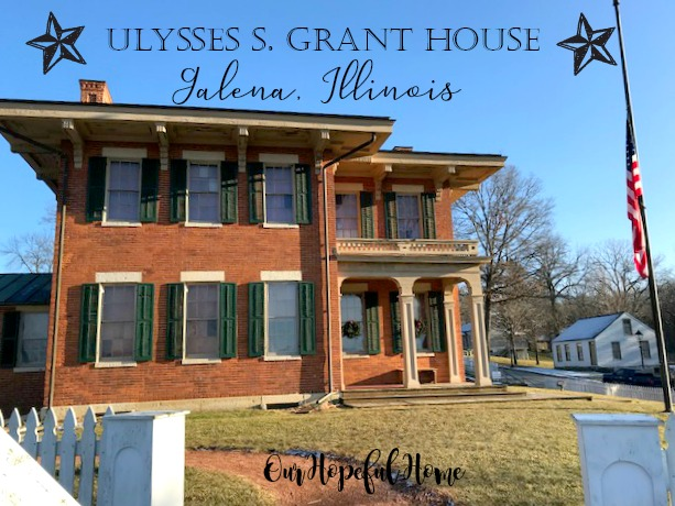 Ulysses S. Grant House home homestead Galena Ilinois