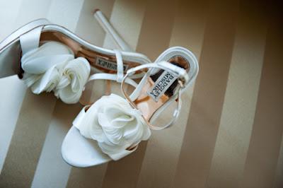 Zapatos de fiesta blancos