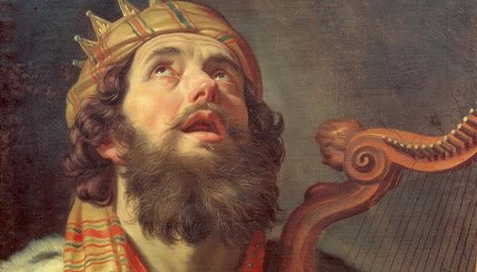 Pintura imagen del rey David