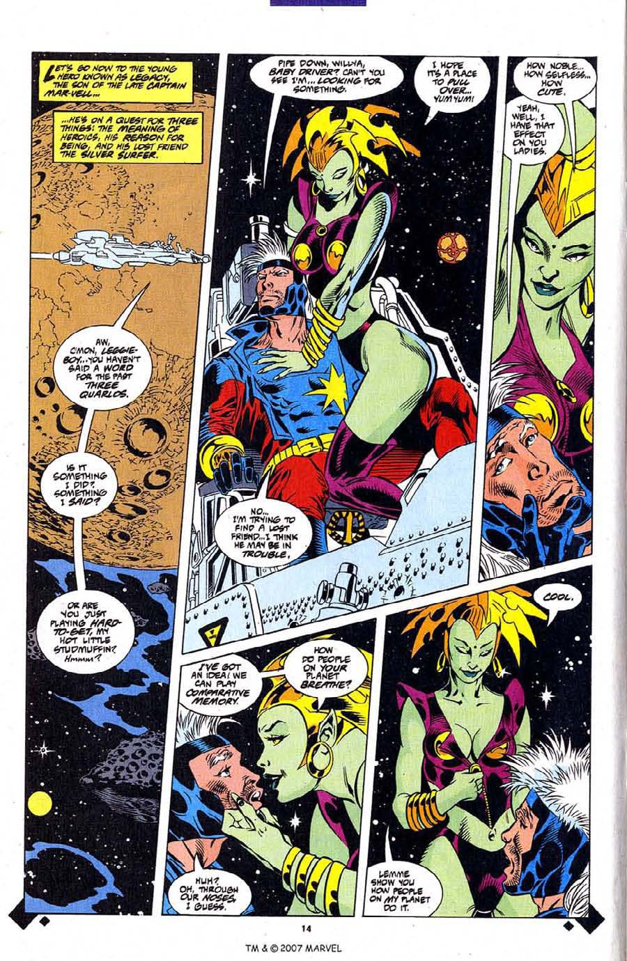 Read online Silver Surfer (1987) comic -  Issue #107 - 16