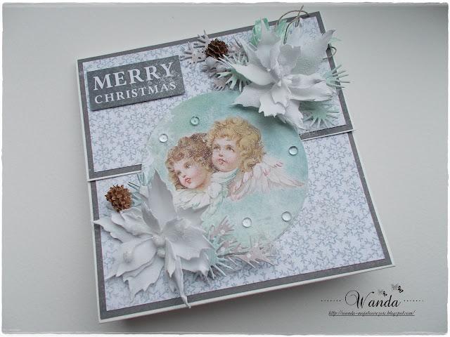 Kartka z aniołkami