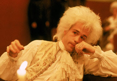 Wolfgang Amadeus Mozart, Played by Tom Hulce, 1984 musical, Directed by Milos Froman