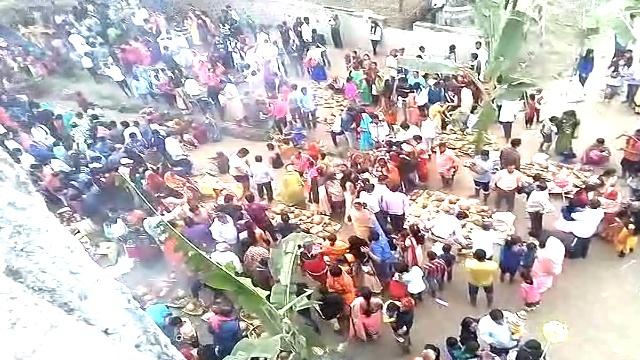 नवंबर 2018 धान आभास के समय गंगा का दृश्य