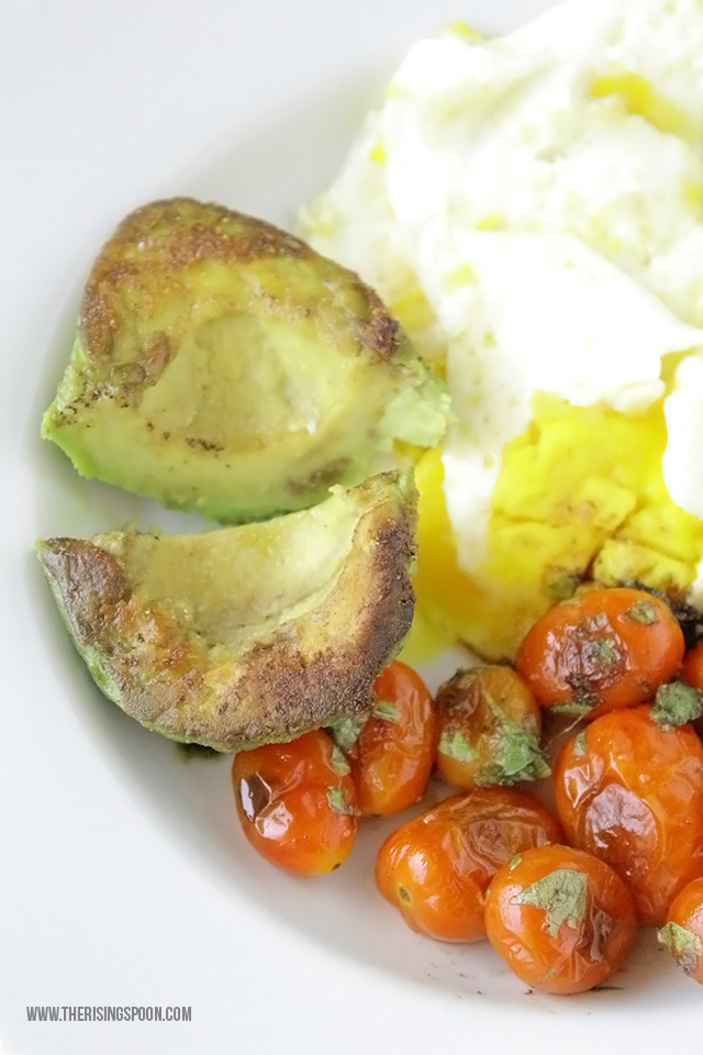 Healthy Breakfast Recipe: Pan-Fried Avocados