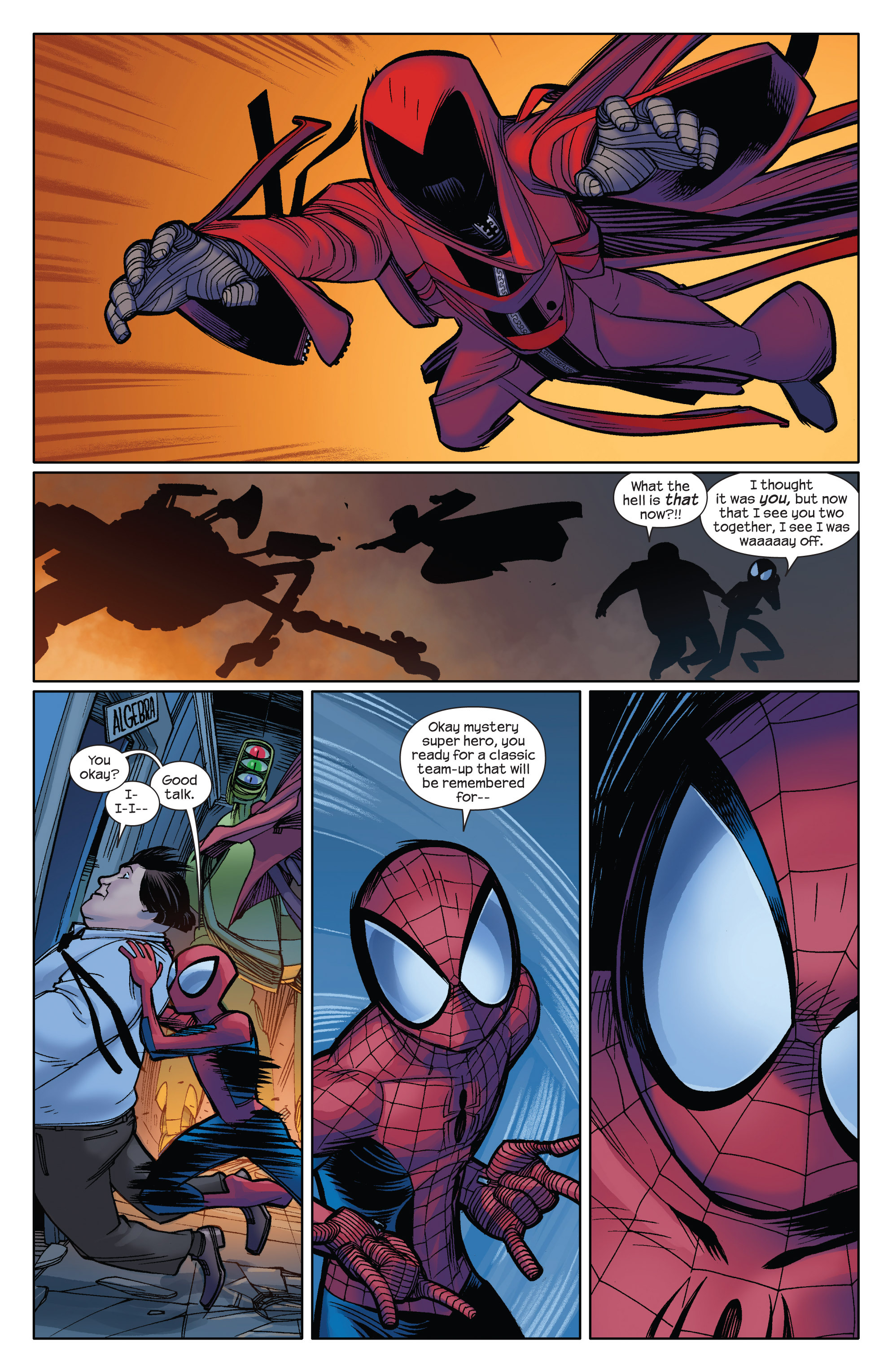 Read online Ultimate Spider-Man (2009) comic -  Issue #6 - 16