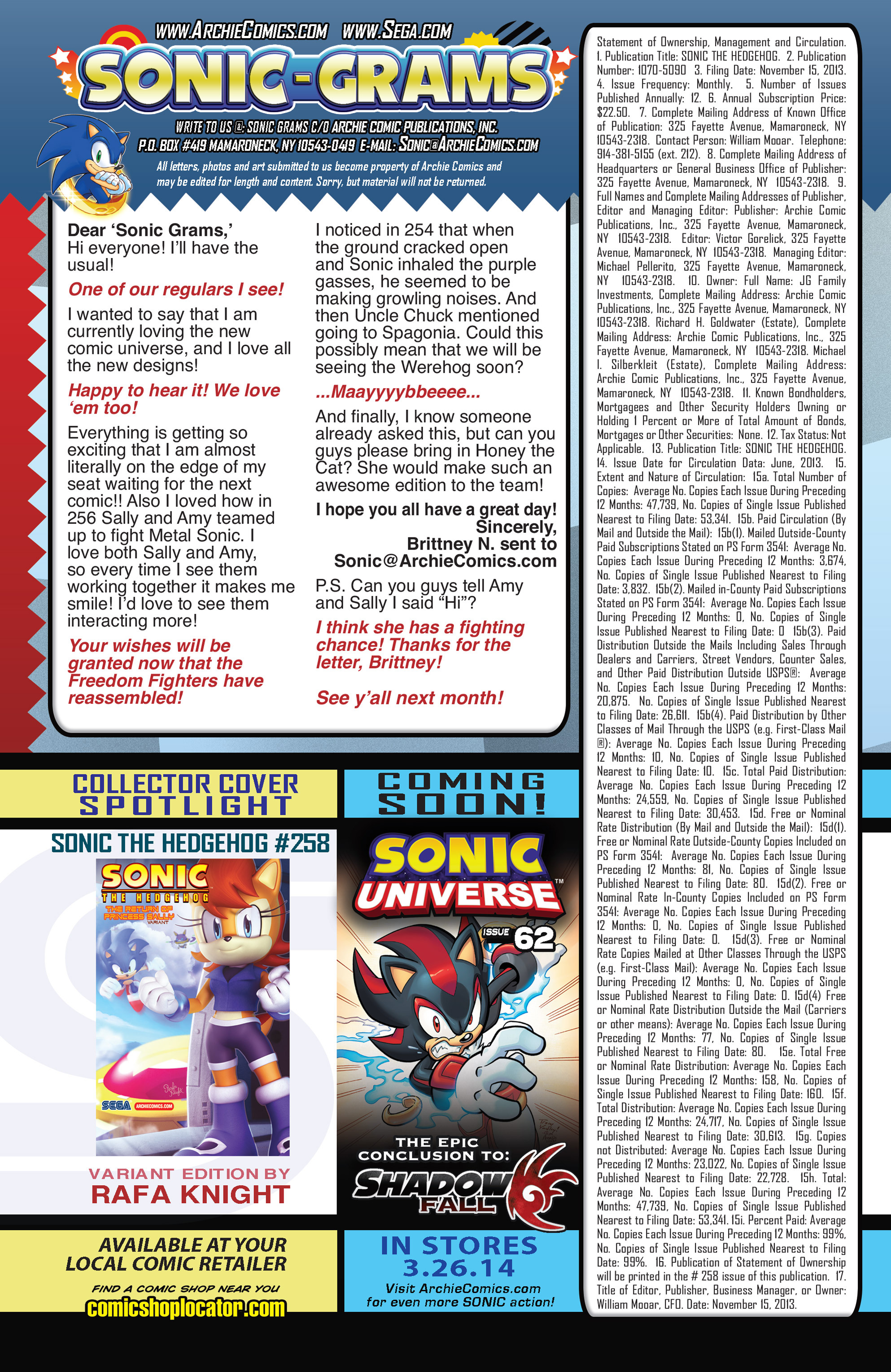 Read online Sonic The Hedgehog comic -  Issue #258 - 26