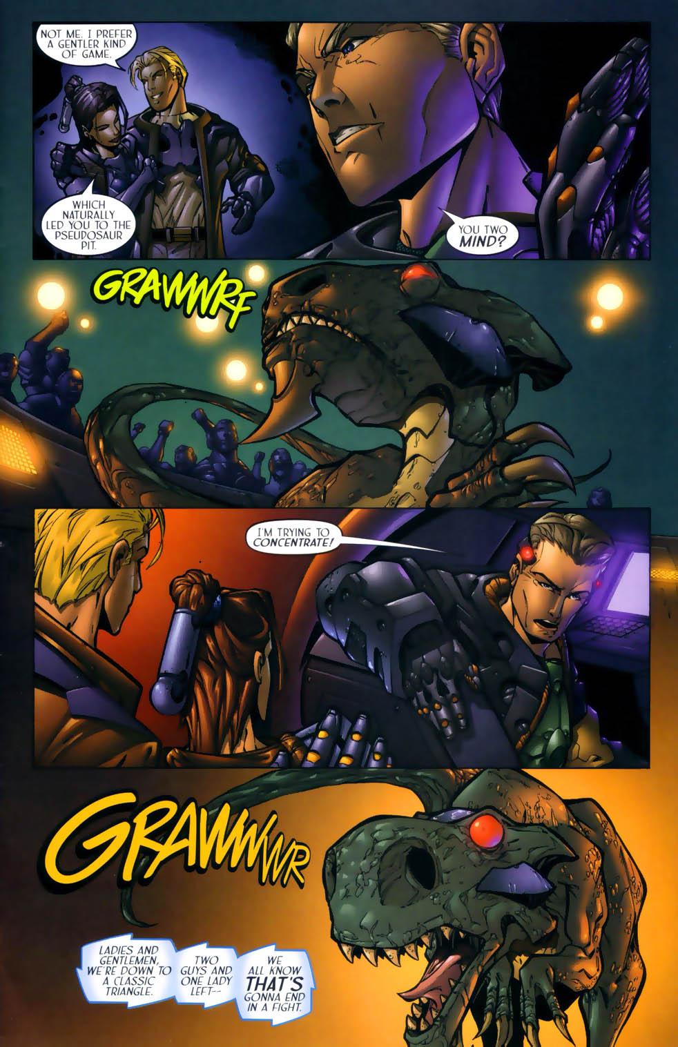 Read online Sigil (2000) comic -  Issue #1 - 9