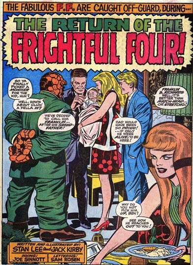 Fantastic Four 94-Frightful Four-AgathaHarkness