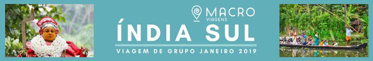 Índia do Sul - Viagem de Grupo em 2019