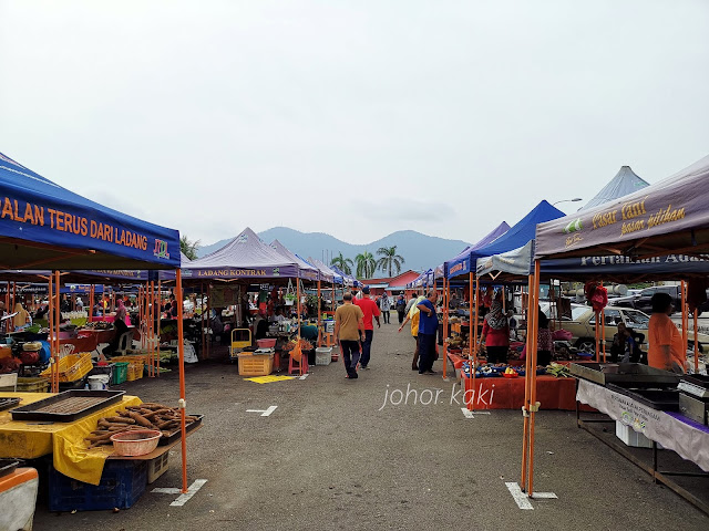 Putu Mayam Wahab @ Pasar Tani Kampung Malayu, Kluang.