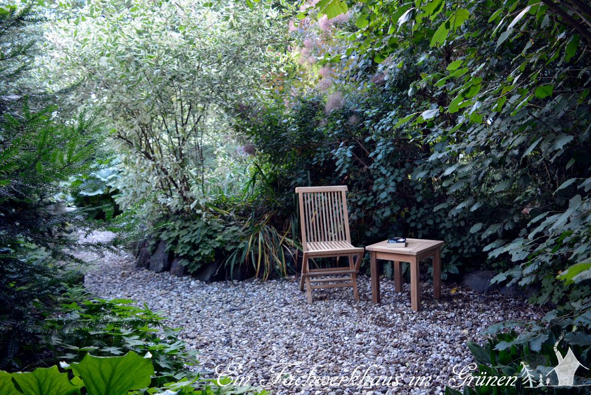 Garten, Sitzplatz, Gartenmöbel