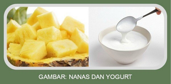 Nanas dan Yogurt