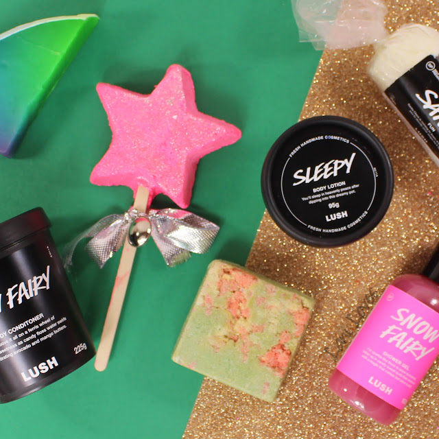 LUSH Holiday 2016 Review