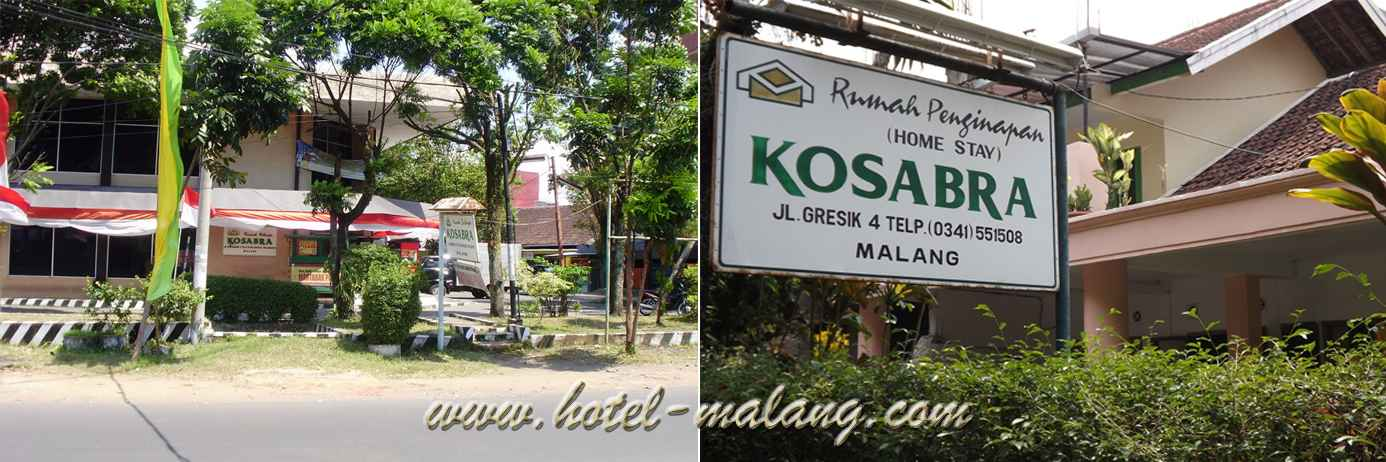 Hotel Kosabra Malang Terletak Di JL GRESIK MALANG Dengan Lokasi Yang Strategis Dan Dekat Universitas Negeri UM Lokasinya
