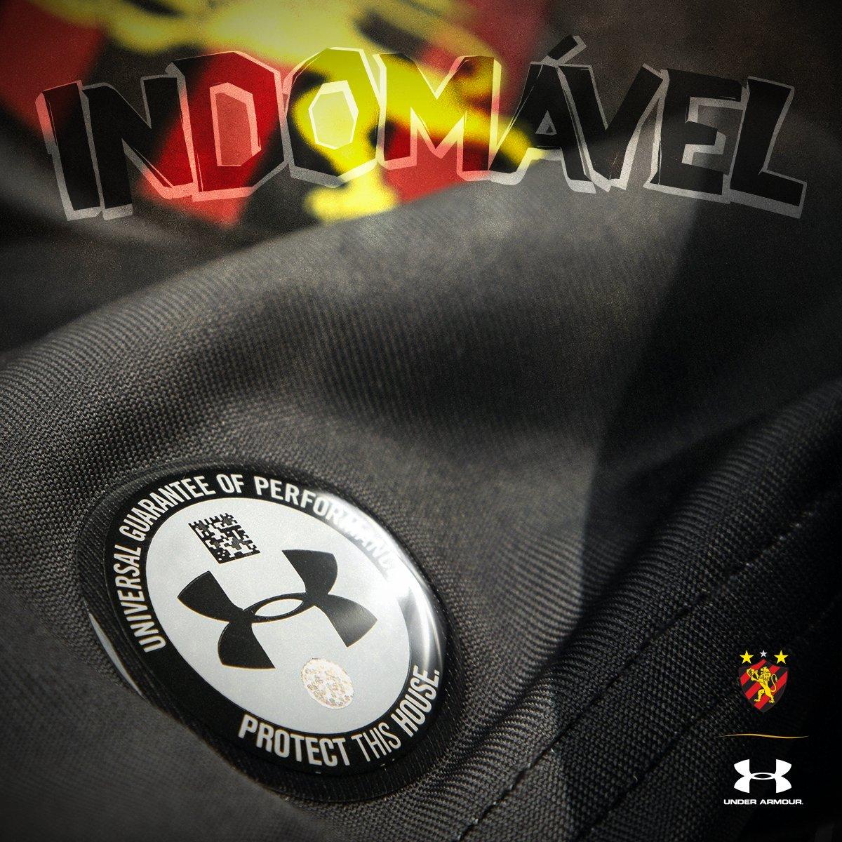 4d0b0bba40 Under Armour lançará terceira camisa cinza para o Sport Recife