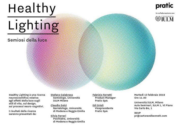Risultati ricerca neuroscientifica Healthy Lighting: semiosi della luce