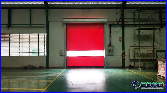 COAD, HIGH SPEED DOOR, RAPID DOOR, ROLL UP DOOR, KOREA, JAPAN, INDONESIA, MALAYSIA, THAILAND