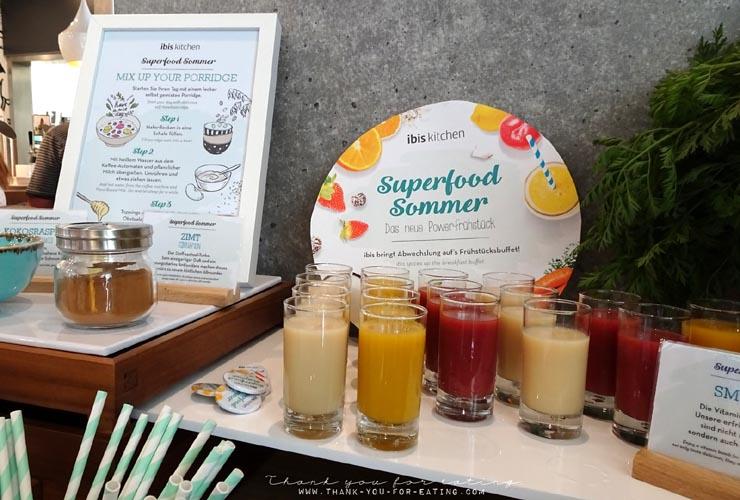 Detox Frühstück - der Superfoodsommer im ibis Hotel