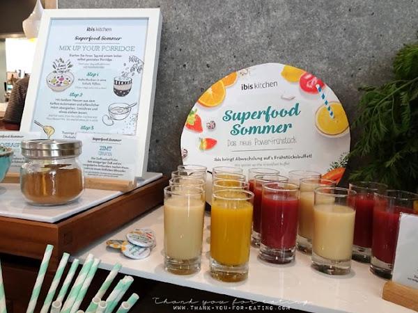 Das Detox Frühstück: Superfoodsommer im Ibis Hotel! [Werbung]