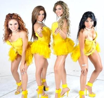Foto de Las Hijas de su Madre posando para fans