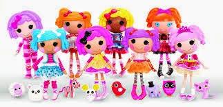 Brinquedos Lalaloopsy