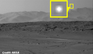 UFO Caught on Camera by Mars Curiosity Rover 6-20-14
