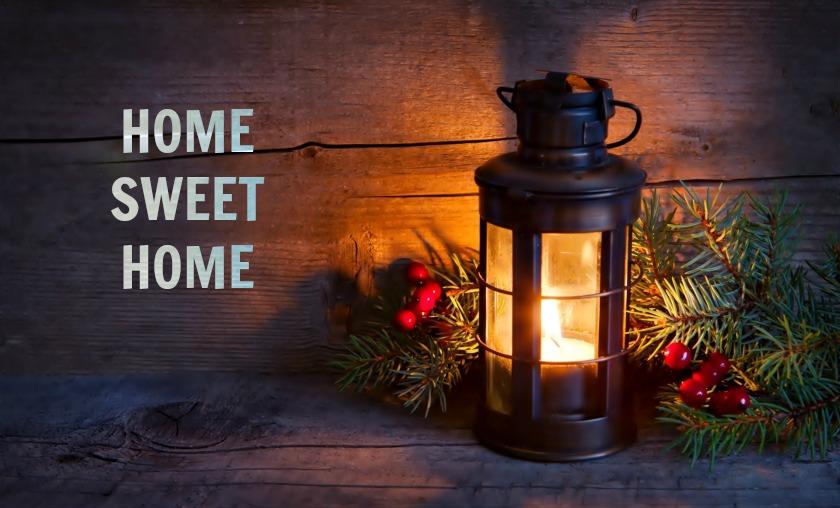 HOME SWEET HOME / WSZĘDZIE DOBRZE ALE W DOMU NAJLEPIEJ!