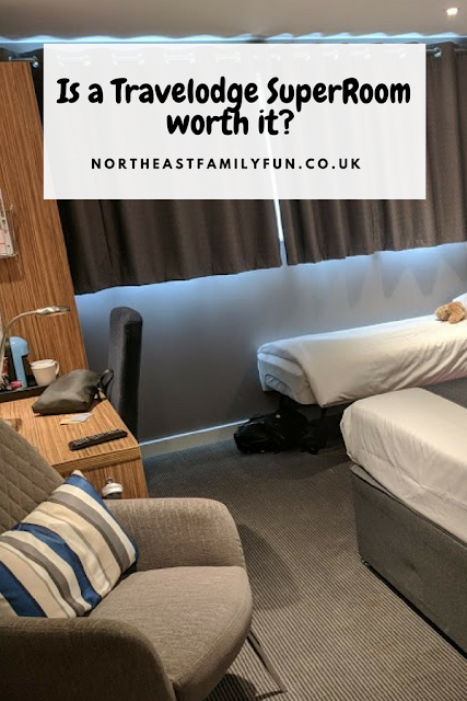 Are Travelodge SuperRooms worth it?  (Travelodge Windsor Central Review)