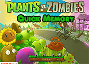 juego Plants Vs Zombies Quick Memory