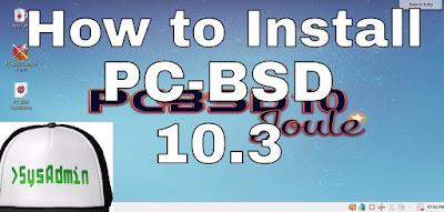 PC-BSD 10.3