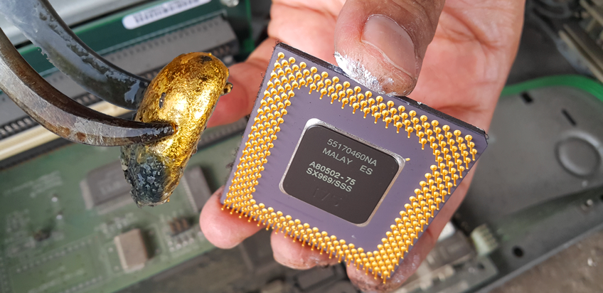 GOLD RECOVERY CPU COMPUTER