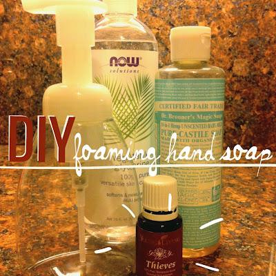 Mama Marcie Diy Thieves Foaming Hand Soap