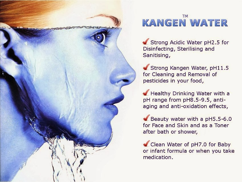 Kangen Water Bontang 5 Jenis Dan Manfaat Air Kangen Water Enagic