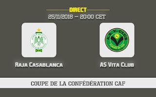 مشاهدة مباراة الرجاء البيضاوي و فيتا كلوب بث مباشر نهائي كأس الاتحاد الأفريقي