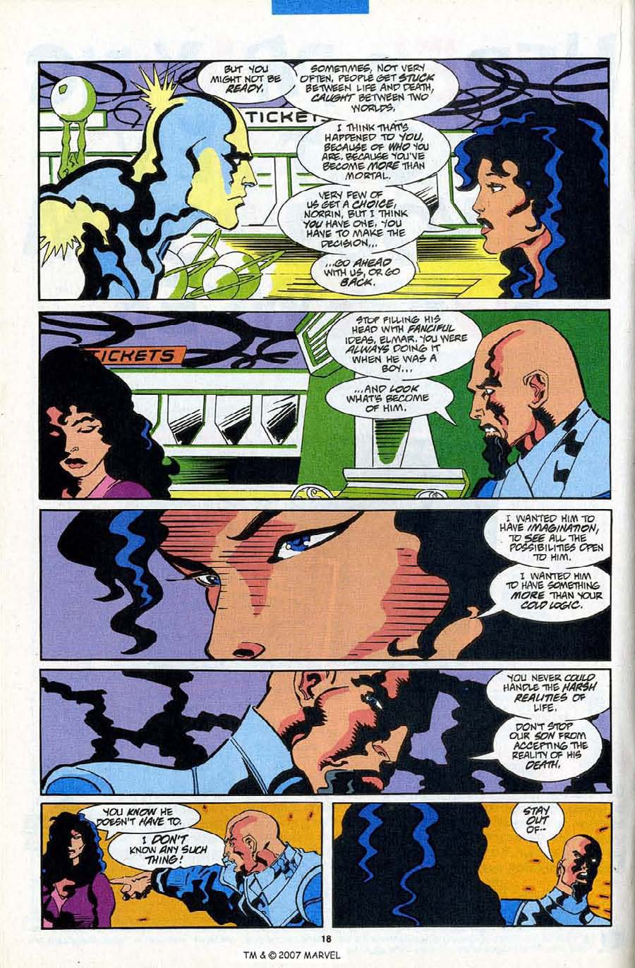 Read online Silver Surfer (1987) comic -  Issue #84 - 20