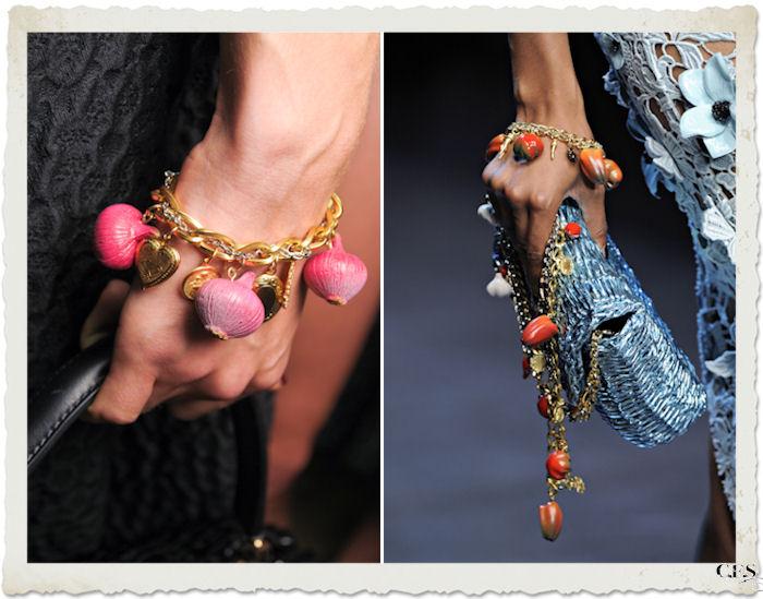 dettagli accessori Dolce&Gabbana PE12