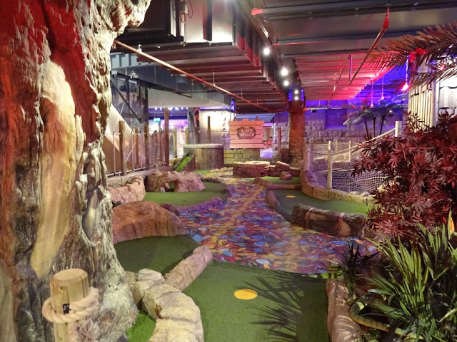 The Lost Valley Adventure Golf course in Bolton