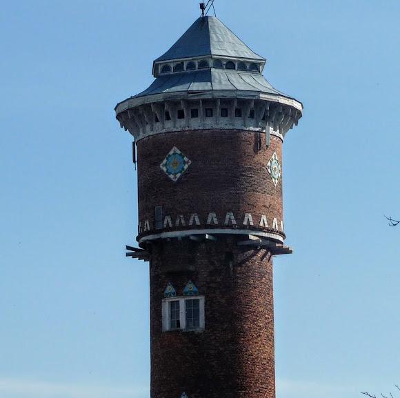 Стрый. Водонапорная башня