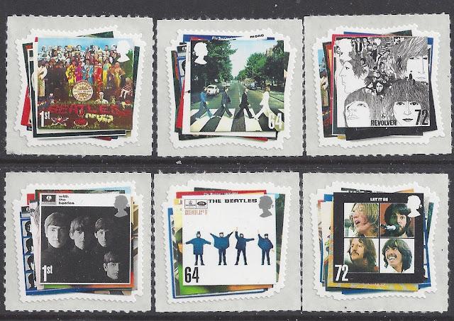 Great Britain 2007 The Beatles Album Covers Set