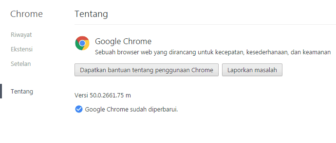 Google Chrome 50