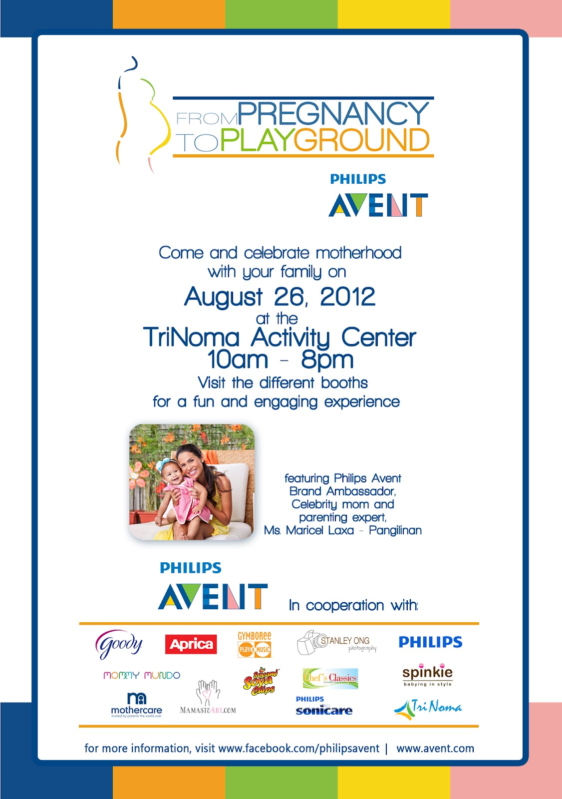 Philips Avent From Pregnancy To Playground Invitation