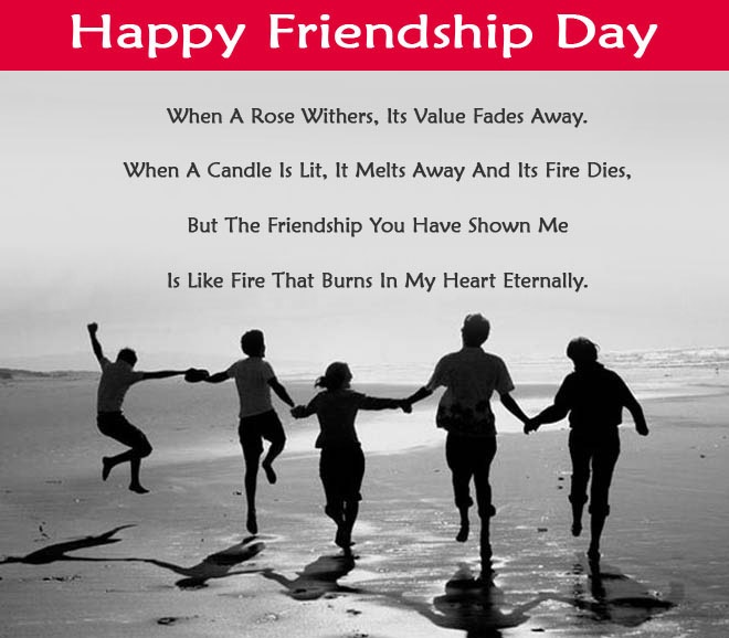 Best Happy Friendship Day Slogans Quotes In English 2017