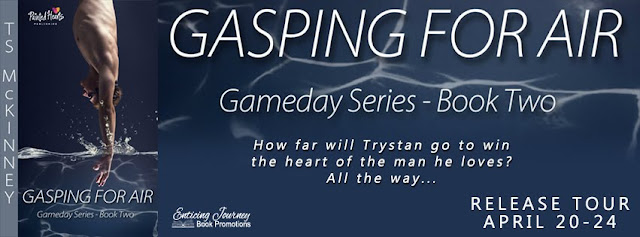 Blog Tour: Exclusive Excerpt, Trailer, Teasers & Giveaway  T.S. McKinney - Gasping For Air