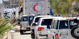 Konvoi bantuan ke Aleppo