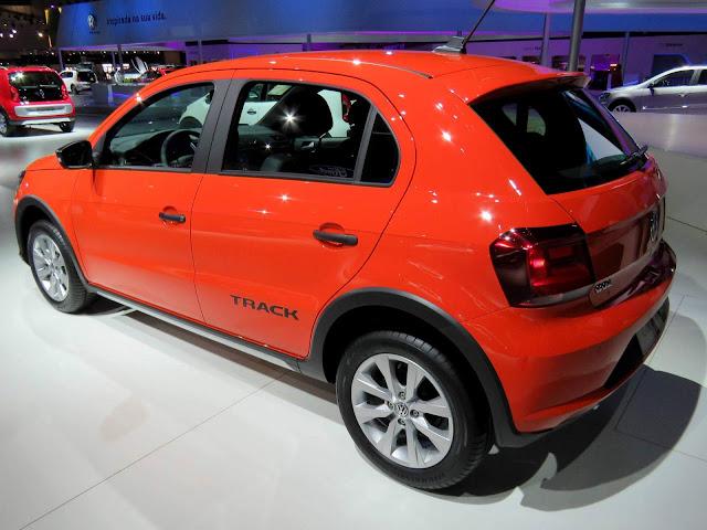 Novo VW Gol Track 2017