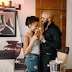 Never before seen photos from Nigerian Entertainers Banky W and Adesua Etomi's engagement